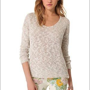 Lily Aldridge For Velvet saffron Pullover Sweater